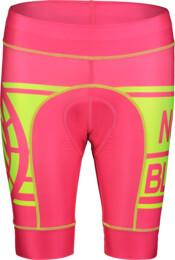 Ružové dámske cyklistické šortky SQUASHY - NBSPL7198