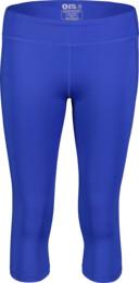 Modré dámske 3/4 fitness legíny DROPS - NBSPL7206