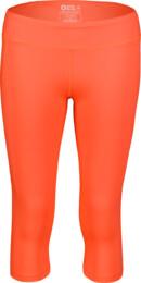 Oranžové dámske 3/4 fitness legíny DROPS - NBSPL7206