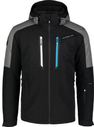Čierna pánska lyžiarska bunda ALLOY - NBWJM6901