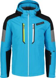 Modrá pánská lyžařská bunda ALLOY - NBWJM6901