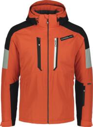 Geacă de schi portocalie pentru bărbați ALLOY - NBWJM6901