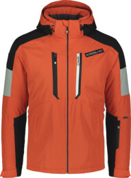 Oranžová pánska lyžiarska bunda ALLOY - NBWJM6901
