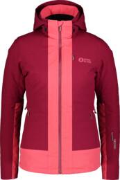 Červená dámská lyžařská bunda CHERISH - NBWJL6925