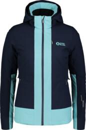 Modrá dámska lyžiarska bunda CHERISH - NBWJL6925