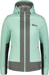 Zelená dámská lyžařská bunda CHERISH - NBWJL6925