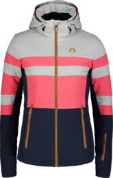Růžová dámská lyžařská bunda DELIGHT - NBWJL6926