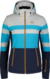 Modrá dámska lyžiarska bunda DELIGHT - NBWJL6926