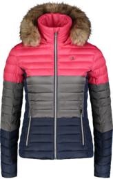 Růžová dámská zimní bunda BAR