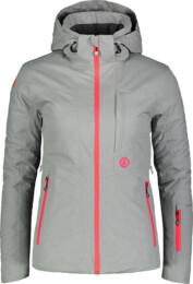 Šedá dámská lyžařská bunda HARSH - NBWJL7311