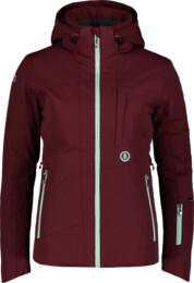 Vínová dámská lyžařská bunda HARSH - NBWJL7311