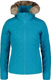 Modrá dámská zimní bunda CAGEY