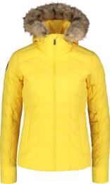 Women's yellow winter jacket CAGEY