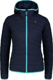 Jachetă matlasată albastră pentru femei CAST