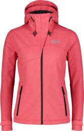 Růžová dámská zimní multisport softshell bunda DEEM - NBWSL7321