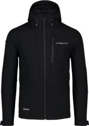 Čierna pánska zimná multisport softshell bunda STRUGGLE - NBWSM7322
