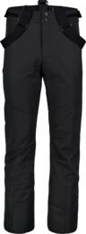 Černé pánské lyžařské kalhoty DEVODED - NBWP7329