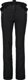Čierne dámske lyžiarske nohavice CALMNESS - NBWP7331