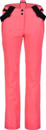 Růžové dámské lyžařské kalhoty CALMNESS - NBWP7331