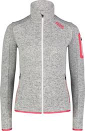 Šedý dámsky sveter GIFTED - NBWFL7350