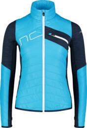 Modrá dámska športová bunda LEERY - NBWJL7360