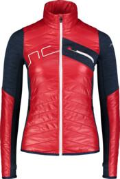 Červená dámska športová bunda LEERY - NBWJL7360