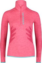 Růžový dámský powerfleecový pulovr BRILL - NBWFL7362