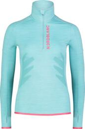 Modrý dámský powerfleecový pulovr BRILL - NBWFL7362