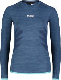 Modré dámské funkční triko SKILLFUL - NBWFL7363