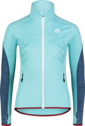 Women's blue power fleece jacket ADROID - NBWFL7364