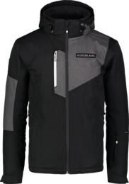 Čierna pánska lyžiarska bunda MANFUL - NBWJM7300