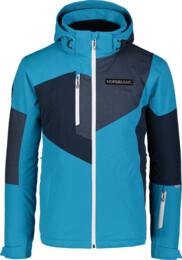Modrá pánska lyžiarska bunda MANFUL - NBWJM7300