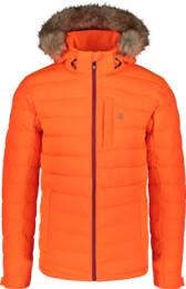 Geacă de iarnă portocalie pentru bărbați STATIC - NBWJM7307