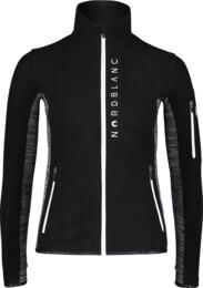 Černá dámská lehká fleecová mikina SAVANT - NBWFL7365