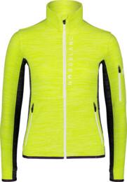 Zelená dámska ľahká fleecová mikina SAVANT - NBWFL7365