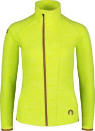 Zelená dámska double fleecová mikina SILVERY - NBWFL7366