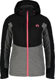 Čierna dámska lyžiarska bunda MATURE - NBWJL6923
