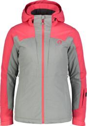 Ružová dámska lyžiarska bunda MATURE - NBWJL6923
