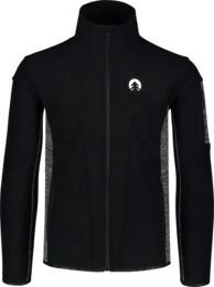 Černá pánská double fleecová mikina SILENT