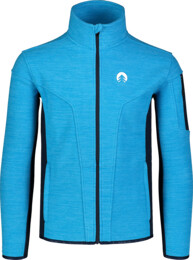 Modrá pánská double fleecová mikina SILENT