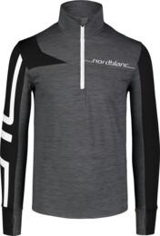 Bluză gri din powerfleece pentru bărbați LABOR - NBWFM7354