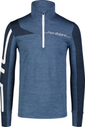 Bluză albastră din powerfleece pentru bărbați LABOR - NBWFM7354