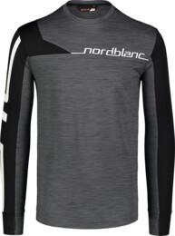 Šedé pánske funkčné tričko TRY - NBWFM7355