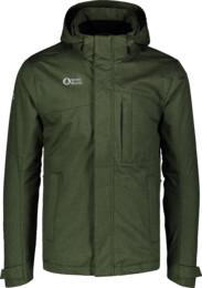 Zelená pánska zimná bunda 3in1 HEROIC - NBWJM7305