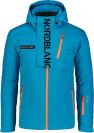 Modrá pánská lyžařská bunda ENSURE - NBWJM6903