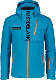 Modrá pánska lyžiarska bunda ENSURE - NBWJM6903