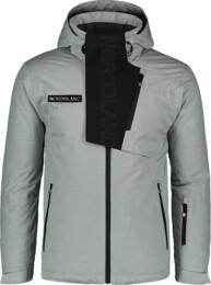 Šedá pánská lyžařská bunda ENSURE - NBWJM6903