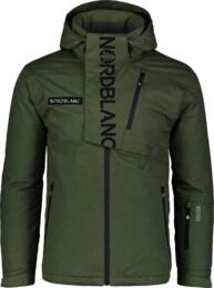 Zelená pánská lyžařská bunda ENSURE - NBWJM6903