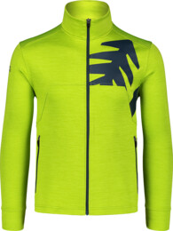 Men's green double face jacket PERSIST - NBSFM7144