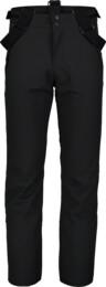 Černé pánské lyžařské kalhoty RESTFUL - NBWP7330